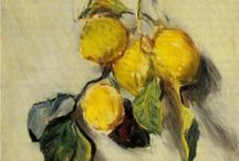 Fruit / Paintings of fruit and vegetables