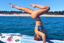 yoga, stand up paddle