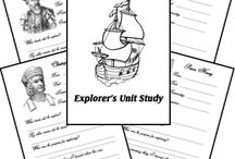 Elementary/Middle: Explorers Study / by KimR