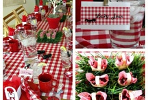 Teacher Luncheons/Easy Decor / by Jamie Havell