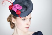 Saucer Hats / A selection of elegant saucer hats from Sally-Ann Provan Millinery. Can be made to order in colours of your choice. www.sallyannprovan.co.uk