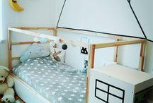 Gyerekszoba dekoráció szigetelőszalaggal/ Kidsroom -washi tape decor