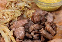 Afro Carribean food