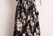 Pilise Görünümlü Elbise / tesettür giyim, tesettür elbise, piliseli elbise
