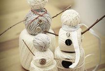 Snowman / by Nanette Ward