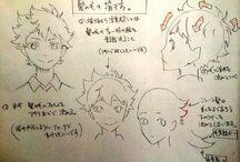Anime hair male
