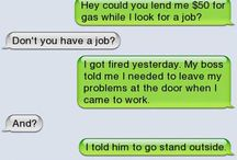 Funny texts / by Elly Becker