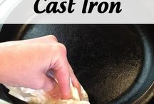Cast Iron / Cleaning cast iron