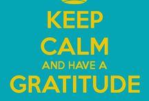 In a Hyatt World / Giving thanks :)