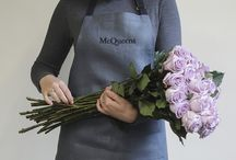 The McQueens Apron / We are delighted to announce that after 26 years in the making, we have finally put the McQueens name to a gorgeous apron for sale online and in store. Created by apron artisans Enrich & Endure, we have long been seeking a wonderful British-made design created by a company that shares the same passion and attention to detail – well here it is!
