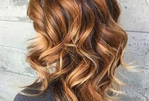 Cheveux caramel