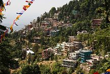 Sightseeing preview of Dharamshala Trip July 2015 / Dharamshala, in Himachal Pradesh is a beautiful place. Breathtaking views of the snow clad mountains, exotic culture and quaint old monasteries. It's full of life yet peaceful. It is the headquarters of H.H Dalai Lama. It's just the place to practice and correct your yoga technique, with a view of the mountains or simply relax and rejuvenate your body and soul with a relaxing massage or go through the soulful experience of cooking your own Tibetan meal.