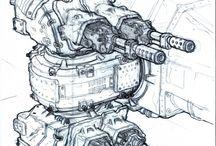 sci-fi・concept art・creature・robot / When I be pin and sci-fi・concept art・creature・robot I'm happy .