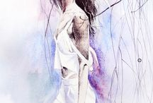Fashion Illustration / Illustrated by Tatyana Panina