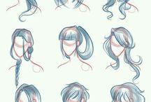Труториал волосы