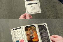 Design graphique publicitaire / TOut ce qui a rapport aux objets publicitaires