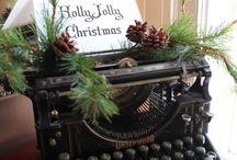 psaci stroj vánoce