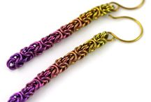 Chain Maille - Earrings / by Sherry Fox