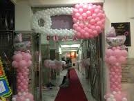 Baby Shower Ideas / Balloon décor & Other Ideas for baby showers