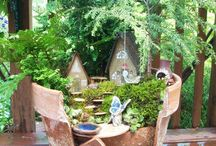 Jardin en pot miniature