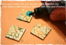 Alcool ink craft / by Nathalie Calle
