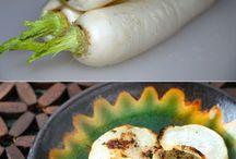 Recipes - Daikon and radishes