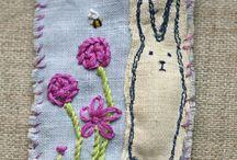 Textile brooch workshop