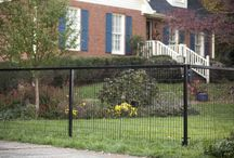 Yard Gard Select Decorative Steel Fencing / Yard Gard Select™ decorative steel fencing provides a distinctive fencing option that offers security and safety while adding curb appeal to any home.