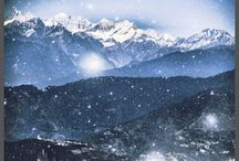 Th world of my dream... / Kanchendjunga from Darjeeling city ( with small photo effects)))
