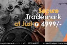 Trademark Registration / If you have developed a brand name and logo for your company and if you want to protect it from being used by others, then visit registrationwala.com and apply online for trademark registration.