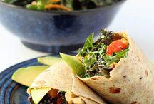 Plant Strong: Burgers, Wraps & Sandwiches / by Jolanta Thorburn