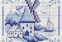 PANORAMA-VIEW*CROSS STITCH-EMBROIDERY