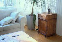 Huonekalujen entisöinti ideoita / Ideoita miten saada uusi ilme vanhoille huonekaluille.