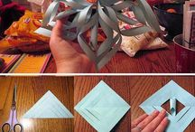 Craft / Paper Snowflakes