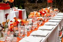 Orange Wedding Ideas / Spicy and sweet, orange wedding ideas prove that you can have a little fun with wedding decor while maintaining top-notch style and grace. Orange might just be the new official color of fun-filled weddings. / by MODwedding