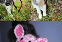 gorros crochet mascotas