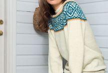 Knitting Kofter & Fair Isle sweaters / knitting