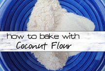 Coconut Flour Recipes / Gluten free and clean eating. Recipes using coconut flour.