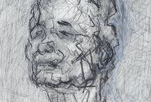 Some favourite Portrait drawings / NIel Bally favouites