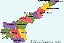 Andhra Pradesh / Andhra Pradesh : A Newly formed state bordering India's southeastern coast. It has major cultural landmarks include Tirumala Venkateswara Temple, an ornate hilltop shrine to Hindu's Temple. Probably longest cost line after Gujarat & really really spicy cuisine & some fabulous colorful sarees from the region