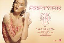 MODE CITY 2014 / Salon International de la Lingerie et du swimwear Mode City - July 2014 - Paris