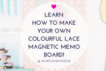 DecoArt Projects / by Heart Handmade UK Craft and Decor Blogger
