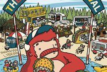 The big food festival: street food nazionale ed internazionale 15 - 16 -17 luglio Alzano Lombardo (BG)