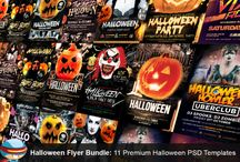 25+ Halloween Party Flyer/Poster PSD Templates / The Flyerheroes Halloween PSD Group is a premium bundle of completely editable Photoshop PSD flyer templates. When you have downloaded this template, utilizing Adobe Photoshop CS4+ you can make utilization of this flyer design a boundless number of times. You are allowed to redo this design any way you wish and use in both individual and business ventures while never crediting FlyerHeroes. If it's not too much trouble check you have the right text styles required for every flyer template.