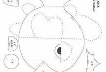 Soft Toy Patterns - Idea's