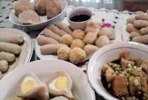 Pempek ! MOST POPULAR / Pempek is a local food from Palembang, Sumatra Selatan, Indonesia. Can be made from most of the seafood.