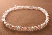 wire crochet jewellery