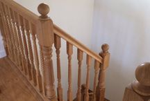 Oak Stair Parts, Handrails, Caps, Posts, Spindles and Staircases. / Oak Stair Parts, take a look at our High quality #oak #stair #parts supplied direct from stock at trade prices.Oak #Handrails, Newel posts, #spindles and oak #staircases bespoke made.