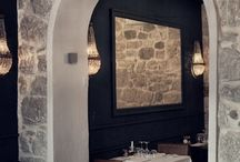 Italian Restaurant Interiors / Interior and Decor