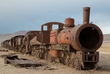 Forgotten trains and tanks